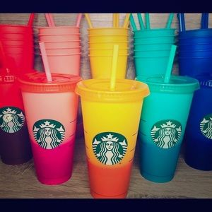 Starbucks Reusable Color-Changing Cups